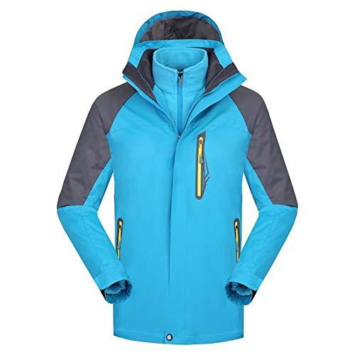 Chaquetas ligeras softshell para hombre Uniformes de trabajo al aire libre Ropa de la escuela de mujeres de los hombres y chaqueta azul impermeable al aire libre de esquí Transpirable al aire libre