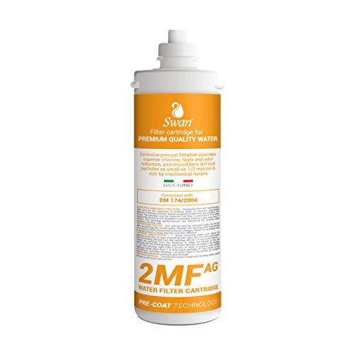 Swan 2MF AG Wasserfilter mit Silberionen kompatibel mit Everpure 2DC