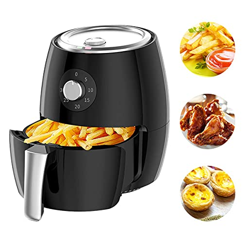 ZLJ 1350W air fryer with fast air circulation system frying technology 30 minute timer and adjustable temperature control for healthy cooking without oil or low fat