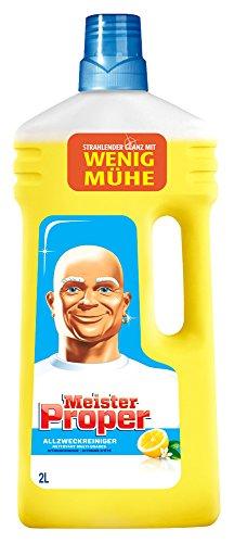 Meister Proper Allzweckreiniger Citrusfrische 2L, 2er Pack (2 x 2 l)