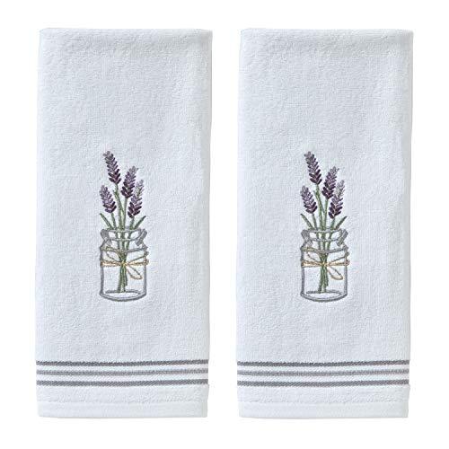SKL HOME by Saturday Knight Ltd. Lavender Hand Towel Set, White