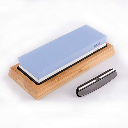 TR TOOLROCK 2-in-1 Professional Sharpening Stone for Knives with 1000/6000 Grit Including Sharpening Stone Set