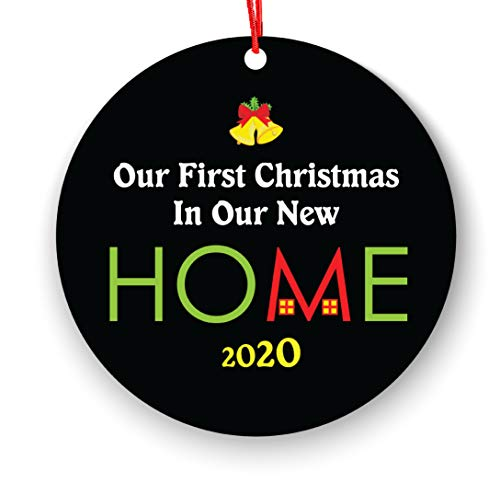 Our First Christmas in Our Home 2018 - Our House Ornament - Our Home Ornament 2018 House Christmas Ornament - Housewarming Gift - Our First Christmas in Our Home