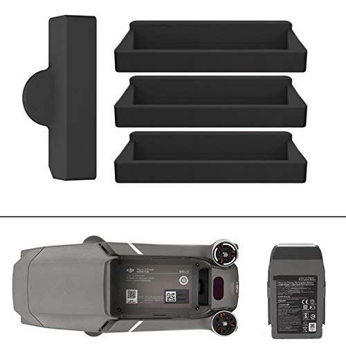 Protection contre poussière et saleté pour le port de charge, convient à DJI Mavic 2 Pro et DJI Mavic 2 Zoom, pour le port de la batterie et du drone, protection du contact électrique, étui à batterie