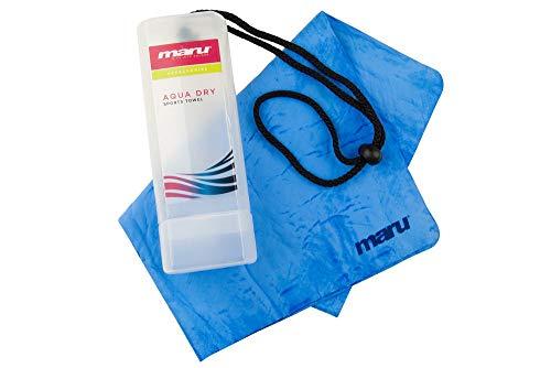 Maru Aqua Dry Towel, Azul, Un tamaño (A0861)