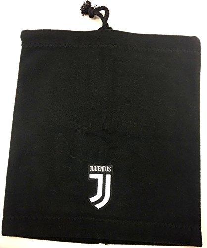 Scaldacollo Juventus Ufficiale Nero Pile Cuffia Berretto Juve SCALDJJNE
