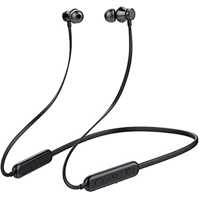 KLOKOL Bluetooth Headphones Neckband 20Hrs Play...