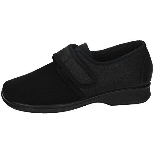 MADE IN SPAIN 5587 Zapatilla DE Licra SEÑORA Zapatillas Negro 41 🔥