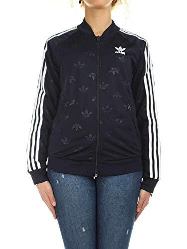 adidas Damen SST Trainingsjacke, Blau, 34