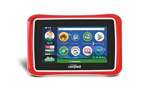 "Clementoni 16610 Il Mio Primo ClempadGO 7"" 8.0 Clempad 8, Tablet per bambini (3 anni +), 16 GB, 1024 x 600 px"