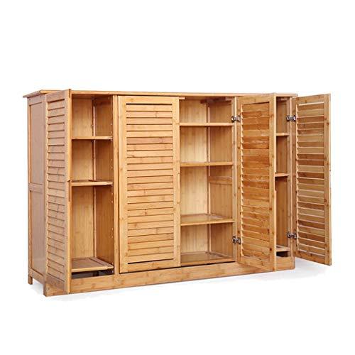Manyao Multi-Capa de Madera de bambú sólido Simple de Calzado Moderno de Almacenamiento de Entrada Sala de usos múltiples Gabinete Zapatero