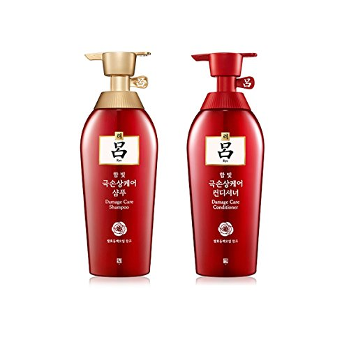 Ryoe Korean Herbal Anti Hairloss Damaged Hair Shampoo Conditioner