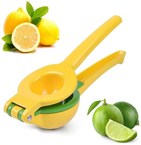 Dashmogul Buy Great Lemon Squeezer -Aluminum Alloy Lime Squeezer - Long Handle Citrus Juicer Manual Juicer Hand Press - Citrus Squeezer for Squeezing Fresh Juice, 2-In-1 Bowl Lemon Juicer Dishwasher Safe