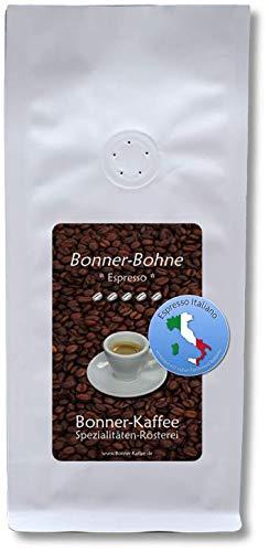 Bonner-Bohne * Espresso Italiano * - röstfrischer Gourmet-Kaffee - Arabica-/Robusta-Blend - 250 gr