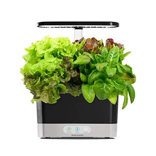 AeroGarden Harvest With Heirloom Salad Greens Pod Kit (6-Pod)