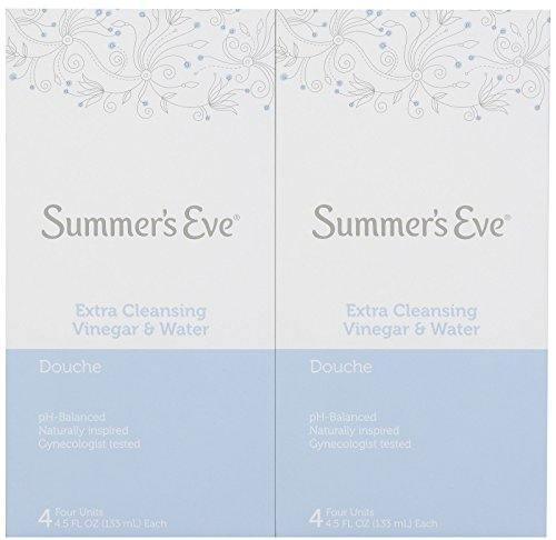 Summers Eve Douche Extra Cleansing Vinegar and Water   4.5 fl Oz   2 Pack