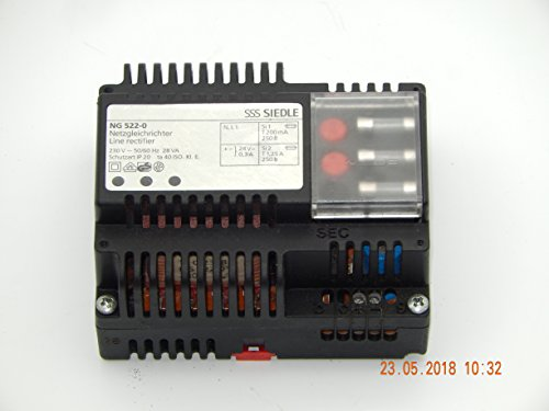 Siedle + Söhne NG 522-0 Netzgleichrichter Sprechanlage Klingel NEtzteil