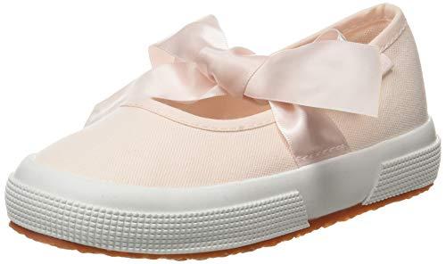 SUPERGA 2257-COTJ, Ballerine con Chiusura sul Retro Bambine e Ragazze, Rosa (Pink A0q), 27 EU