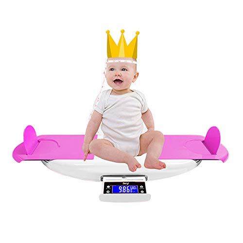USB Digital Baby Weighing Scale, Newborn Weight Scale Electronic Baby pet Bathroom Weighing Scale, Multi-Function Music Baby high-Precision Electronic Scale, Weighing Range 50g-30kgZDDAB
