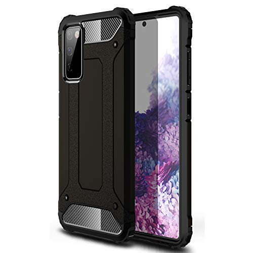 Samsung S21 Case Shockproof Galaxy S21 Case Military Grade Drop Tested Slim Dual Layer Samsung Galaxy S21 5G Phone Case Black