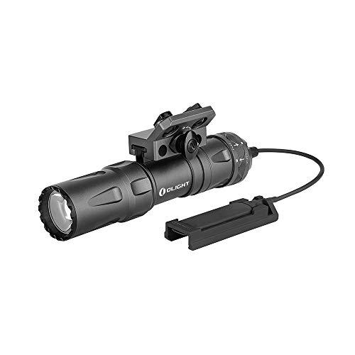 Linterna táctica Odin Mini 1.250 lum. con pulsador remoto y montura M-Lok Olight Gris metal limitada