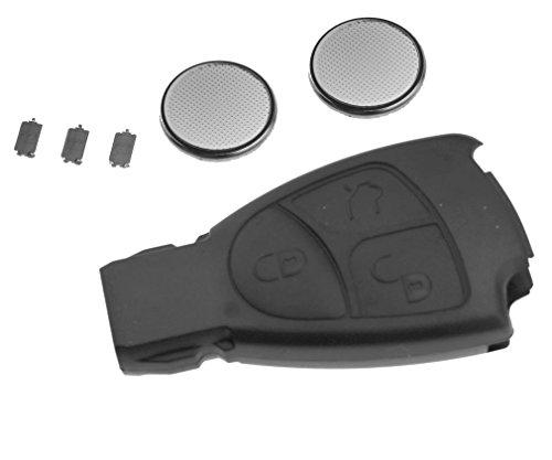 Coque de clip clé télécommande à 3 bouton pour Mercedes Benz CLK SLK S B C E ML
