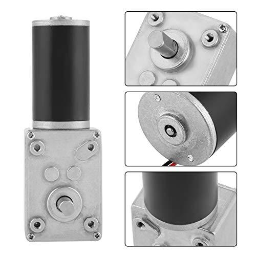 Yeelur Motor de pequeño Motor de CC, Motor de de 12 voltios Motor de Engranajes de Motor de Engranajes, para trituradoras de Papel para fotocopiadoras