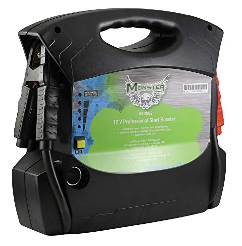 %75 OFF! Monster (MST8822) 12 Volt Professional Start Booster