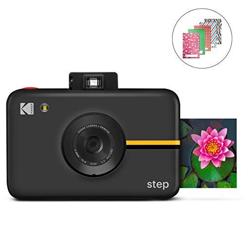 KODAK Step Kamera |Digitale Sofortbildkamera mit 10MP Bildsensor, Zink-Technik, klassischem Sucher, Selfie-Modus, Auto-Timer, eingebautem Blitz und 6...