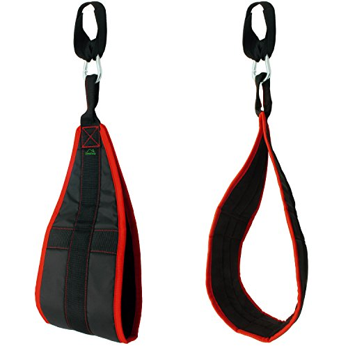 CampTeck U6833 Ab Straps Padded Hanging Ab Slings with Carabiner for Abdominal...