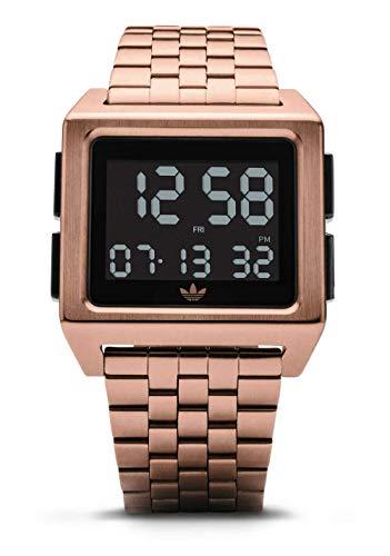 adidas Archive_M1. 70S acero inoxidable del estilo reloj de pulsera digital con 5 Enlace para Multi Un tamaño