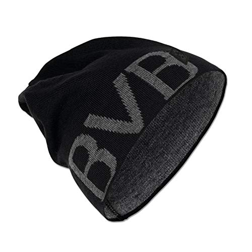 Borussia Dortmund BVB-Mütze (schwarz), Schwarz, Einheitsgröße