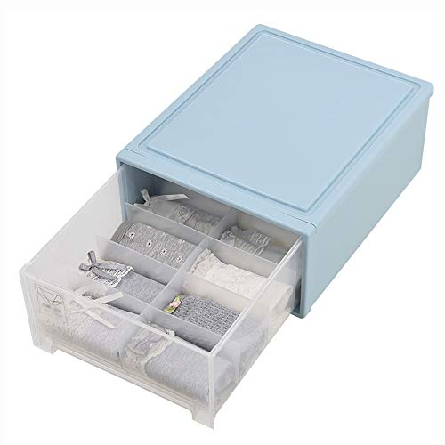 Boîte de rangement pour sous-vêtements Boîte de rangement pour sous-vêtements en PP, boîte de rangement pour sous-vêtements transparente, armoire de rangement en plastique, type de sous-vêtement domes