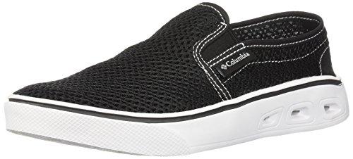 Columbia Women's Spinner Vent MOC Water Shoe, Black, White, 6.5 Regular US