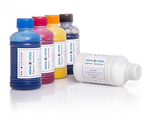 Después de fuell de tinta 250ml Nova de X dtex | pigmento de tinta textil, camiseta de impresión | flachbettdruck | Impresión textil, color magenta