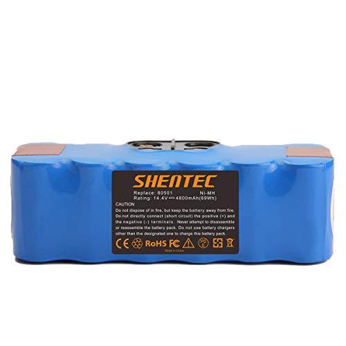 Shentec 14.4V 4800mAh Ni-MH Batería compatible para iRobot Roomba 510 520 530 531 532 533 535 540 545 550 552 560 562 570 580 581 585 595 600 610 620 630 650 660 700 760 770 780 790 800 870 880