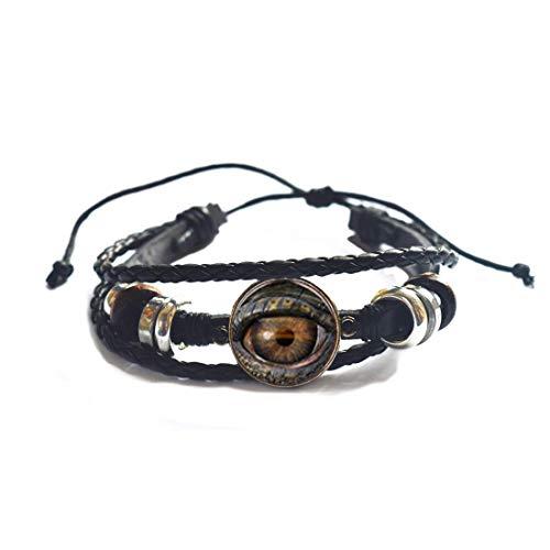 Ojos pulsera accesorios de joyería pulsera y pulsera de pulsera, joyería de ojos, regalo para ella, mejor amiga pulsera, PU257