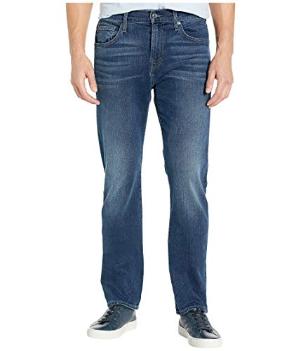 7 For All Mankind The Straight Tapered Status Quo (Luxe Performance) 34