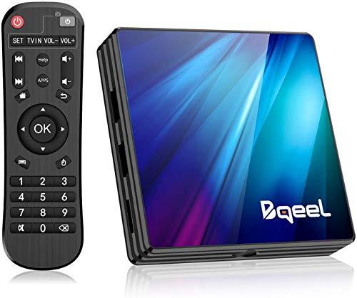 Bqeel Android TV Box 9.0, R1 Plus 4GB RAM 64GB ROM Android Box RK3318 Quad-Core 64 bits Dual-Band WiFi…