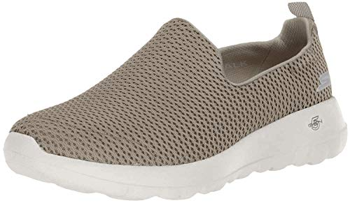 Skechers womens Go Joy Walking Shoe, Taupe, 7 US