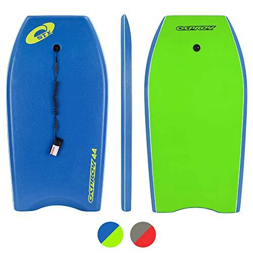 Osprey STX, Bodyboard con guinzaglio Boogie Board per Bambini...