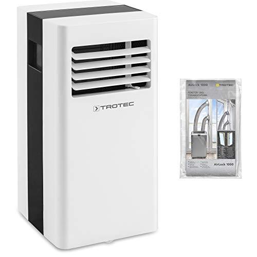 TROTEC Lokales Klimagerät PAC 2100 X mobile 2 kW Klimaanlage 3-in-1-Klimagerät zur Kühlung und Klimatisierung inkl. AirLock 1000