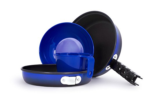 GSI Outdoors, Bugaboo Mess Kit, Camping Cookset, Superior Backcountry Cookware Since 1985