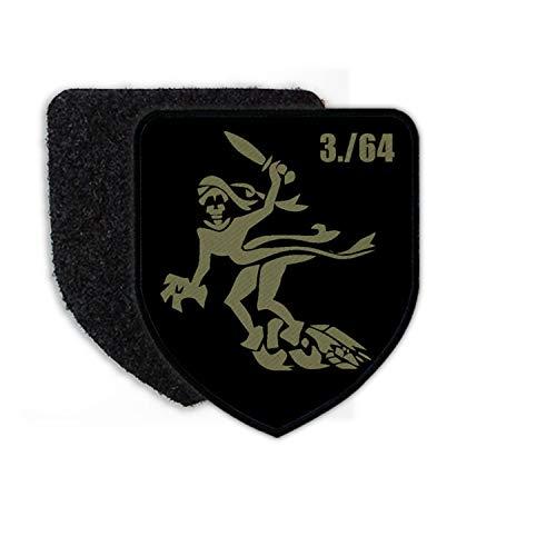 Copytec Patch 3 PzBtl 64 Panzerbataillon Wolfhagen die Wölfe Kompanie Gespenst #23599