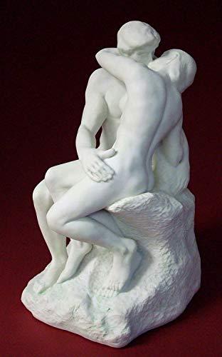 Auguste Rodin Der Kuss Plastik Skulptur RO02