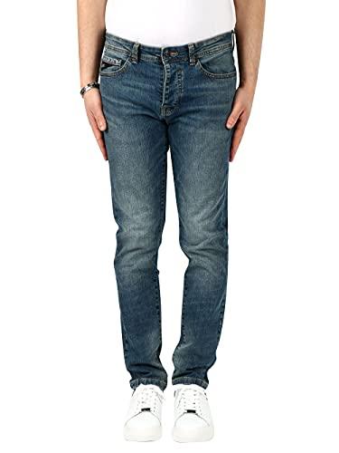 jeans yes zee uomo Yes Zee Jeans Uomo P601-F577 Denim 30