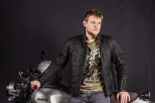 Merlin Stockton Motorrad Lederjacke Schwarz S Auto