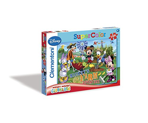 Clementoni 27827.5 Mickey Mouse Clubhouse: Farm Adventure