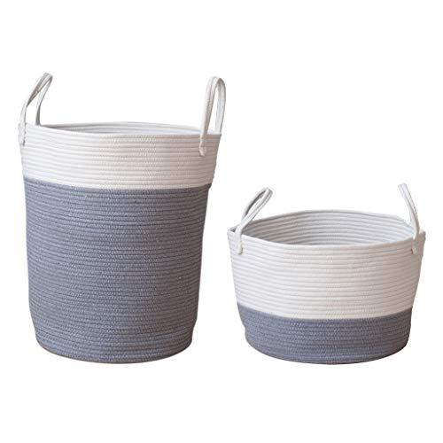 Homyl Panier à Linge Vêtement Rangement Stockage Salle de Bain Maison - gris