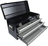 BGS 3312 | Caisse à outils métallique, vide | 3 tiroirs